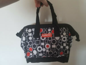 Lunch bags and laptop bags