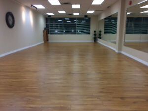 Mississauga  dance studio available for hourly rent
