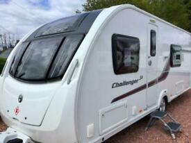 Swift Challenger SE 570, Yr14, Fixed Bed, Full End Washroom