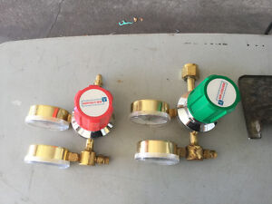 Accetelyn and Oxygen - gauges Strathcona County Edmonton Area image 1
