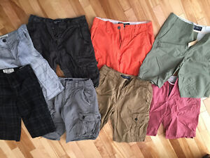 6 pairs Men's American Eagle shorts size 28