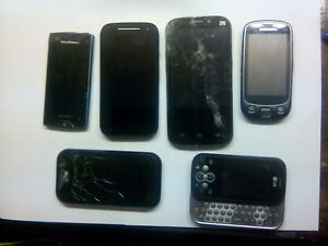 VARIOUS CELL PHONES FOR PARTS