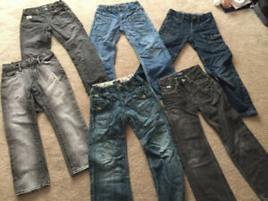 Boys size 7 Mexx and Gap jeans in new condition