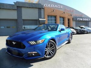 Ford Mustang GT, 5.0 L, CONVERTIBLE, GPS, CAMERA 2017