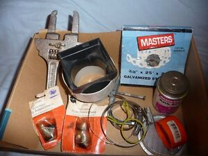 For Sale:  Plumbers assortment
