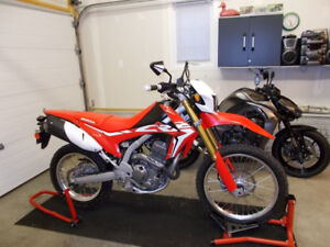 2018 - Honda - CRF-250L - ONLY 700 kms - Extras