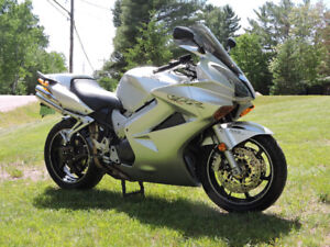 2002 Honda 800 VFR with ABS brakes