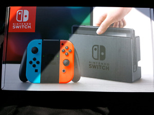 Nintendo Switch Console - Neon Blue and Neon Red Joy-Con Edition