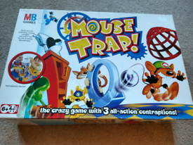 Family Board Game MOUSE TRAP MB Games