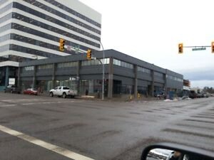 Large rental space on 2nd and Victoria, PG. Ph. 250-962-7570.