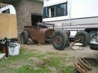 1923 studebaker two door ratrod