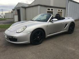 2007 Porsche Boxster 2.7 S Tiptronic S. Private plate included.