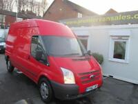 2012 62 FORD TRANSIT 2.2 350 LONG WHEEL BASE, HIGH TOP, TREND MODEL, 140 BHP, A