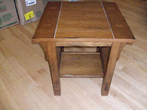 2 mission end tables