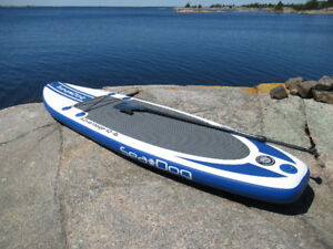 "Advantage 10'-6"" Inflatable Stand Up Paddle Board & Accessories"