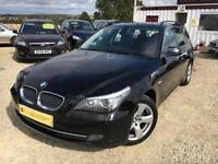 BMW 5 SERIES 520D SE TOURING Black Manual 2.0 Diesel, Estate, 2010