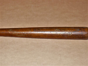 1940's Louisville Barney McCosky mini baseball bat