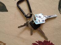 Clefs (clés) trouvé dans le parc Ahuntsic