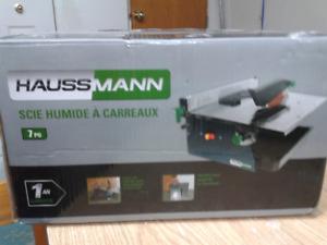 SCIE HUMIDE A CARREAUX HAUSSMANN