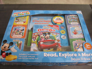 Mickey Mouse Clubhouse Read, Explore & More, NEW in box