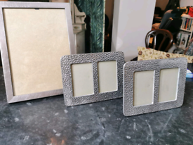 Selection of luxury photo frames...