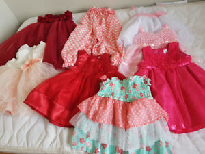 Newborn to 24 month old Girls clothes