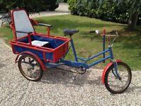 Rickshaw bike