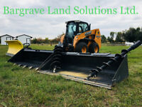 Skid Steer Services!! Bargrave Land Solutions Ltd. Call Today!!