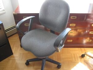 OFFICE ARM CHAIRS - FILE CABINET - DESK LAMPS