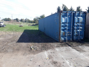 Shop /storage 40 foot container for rent. Read ad