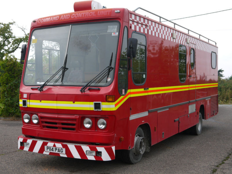 Iveco Ford Cargo Fire Mobile Office Motorhome Camper Race