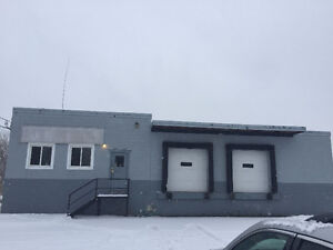Commercial Building and land for rent