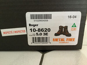 Royer (10-8620) Work Boots - Brand New
