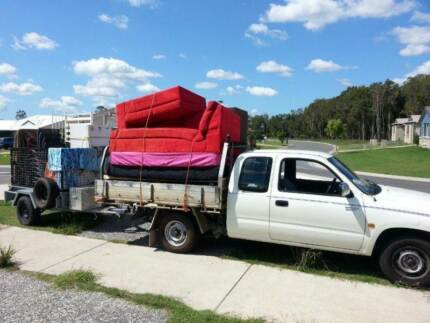 1 or 2 Men with Ute & Caged Trailer for Hire Caboolture Caboolture Area Preview
