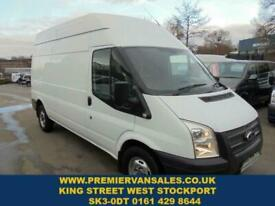 da7d43a095 2013 13 FORD TRANSIT 2.2 350 LONG WHEEL BASE HI TOP SIX SPEED FITTED WITH  AIR
