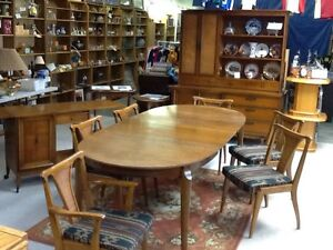 1950,s complete dinning set,united furniture lexington