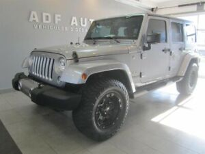 Jeep Wrangler Unlimited UNLIMITED SAHARA NAVIGATION 2 TOITS 2016