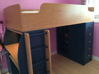 2 bed - bunk bed (loft style) FS