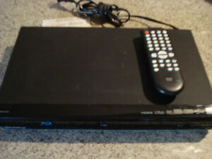 Blu ray player with remote