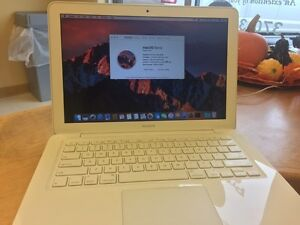 MacBook with 240 GB ssd drive