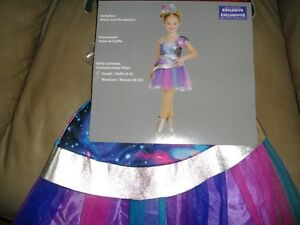 Galaxy Girl Costume (4-6Y) & Tutu (4-6Y) for sale - price in ad