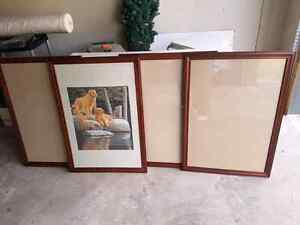 Picture Frames - Set of 4 matching