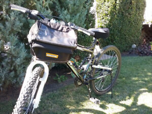 """17"""" CCM bike with 2 seat cover, bag & lock"""