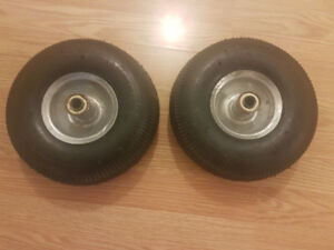 """Two 4"""" Tires for Sale"""