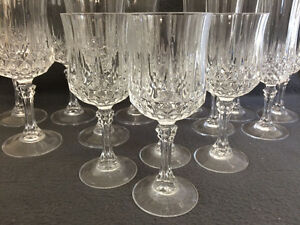 Collectible Antique Large Lot of Crystal Stemware London Ontario image 2