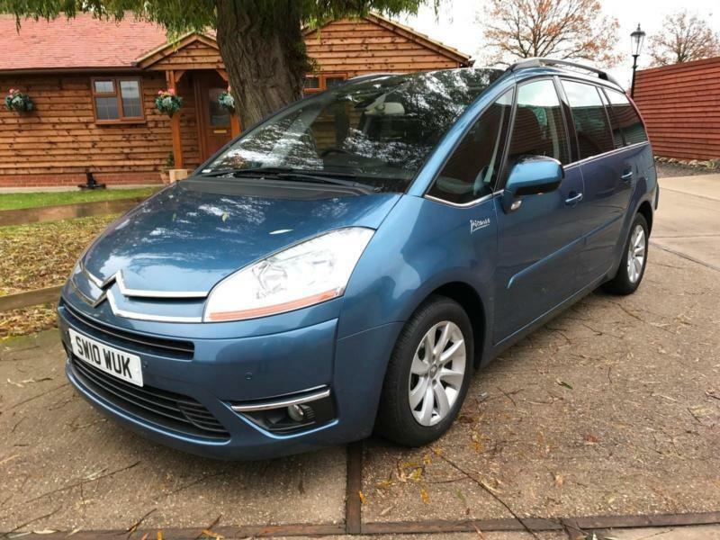 2010 citroen c4 grand picasso 2 0hdi exclusive 7 seater turbo diesel automatic in hockley. Black Bedroom Furniture Sets. Home Design Ideas