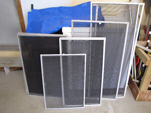 Window Screens with aluminum frames