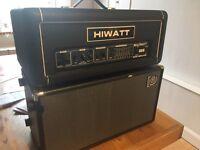 Hiwatt B300 bass amp + Ampeg SVT 210 AV