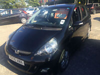56 reg Honda Jazz 1.4i-DSI Sport black