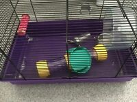 Hamster cage. Used